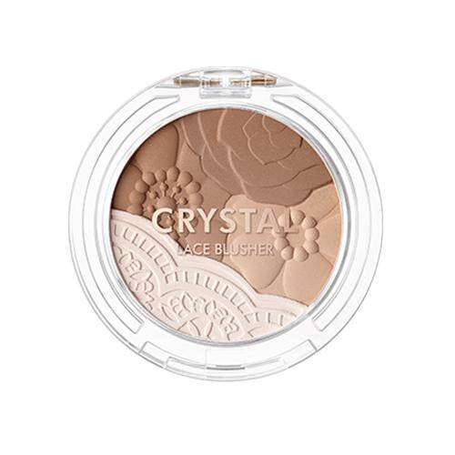 TONY MOLY Fabric Collection Crystal Lace Blusher 5g - 05 Maple Brown