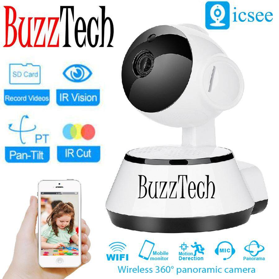 BuzzTech ICSEE Puppy Design IP CAM 720P HD Wifi Wireless IP Camera Security Wireless CCTV Night Vision Baby Monitor Camera