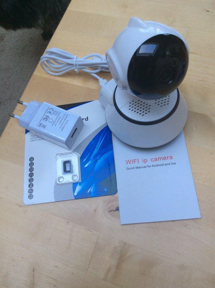 Wintin Wireless Security Camera IP Camera WIFI Home CCTV Camera 1080P 720P  Audio Surveillance P2P Night Vision Baby Monitor Cam