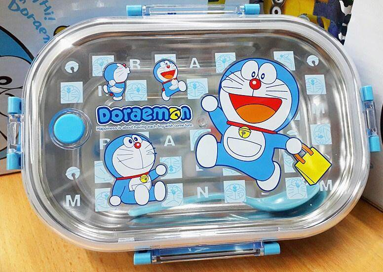 Cartoon Stainless Steel Lunch Box (BGJAYA)-Doraemon