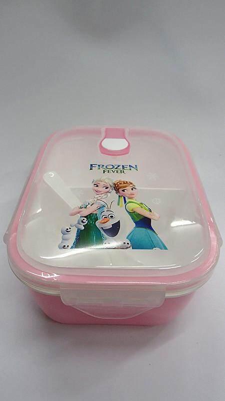 [Ready Stock] Cartoon Lunch Box Food Containers (BGJAYA)-Frozen