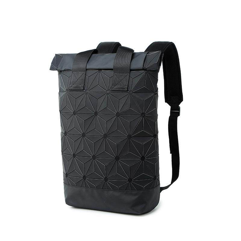 MV Bag 3D Issey Miyake Authentic Backpack Big, Black, Waterproof Original Laptop Travel Fashion Casual Style Beg MI3741