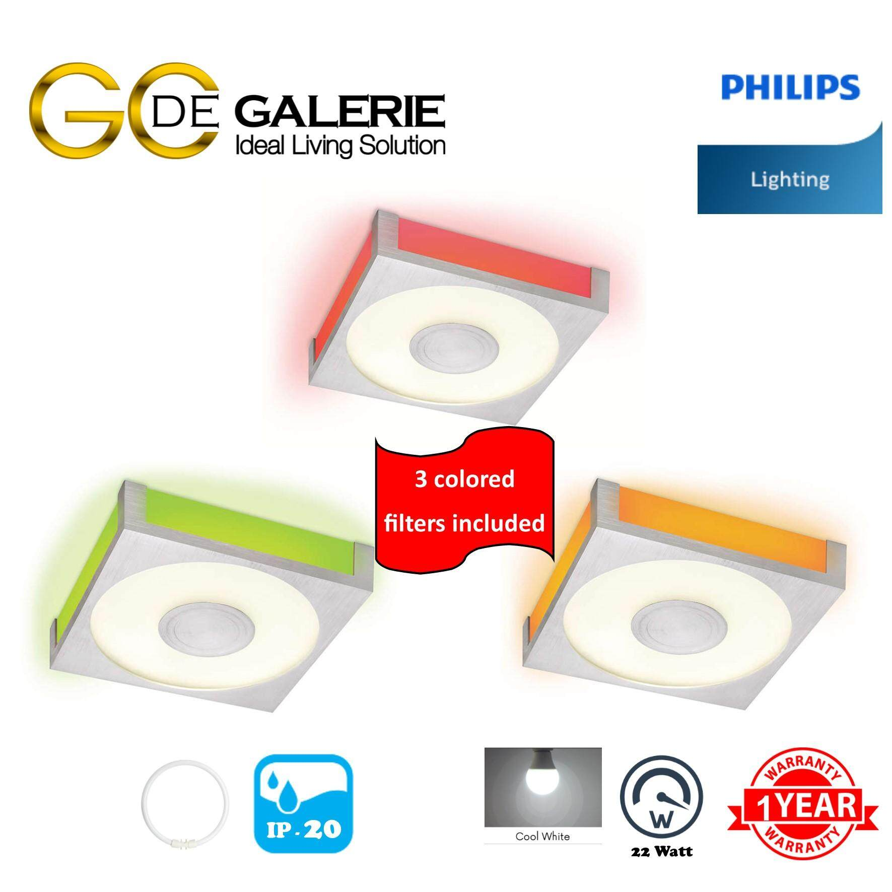 CEILING LIGHT PHILIPS 32509 WH 1x22W