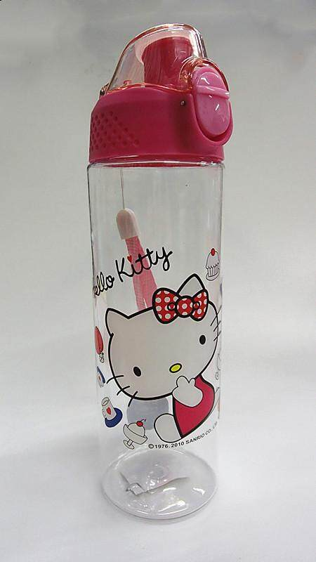 600ML Cartoon Water Bottle Drinking Bottle BPA Free Water Tumbler (BGJAYA)-Hello Kitty