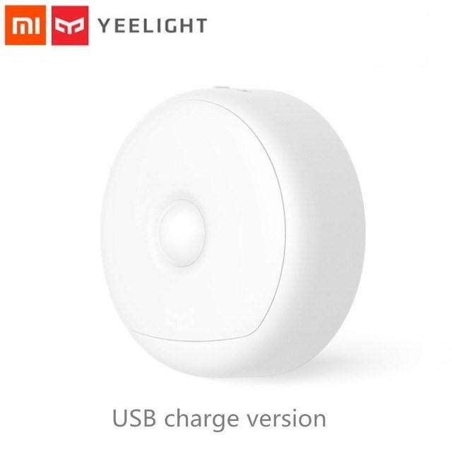 Xiaomi Yeelight LED Infrared Body Motion Sensor Night Light USB Rechargeable  Build-in Battery Used Up to 120 days