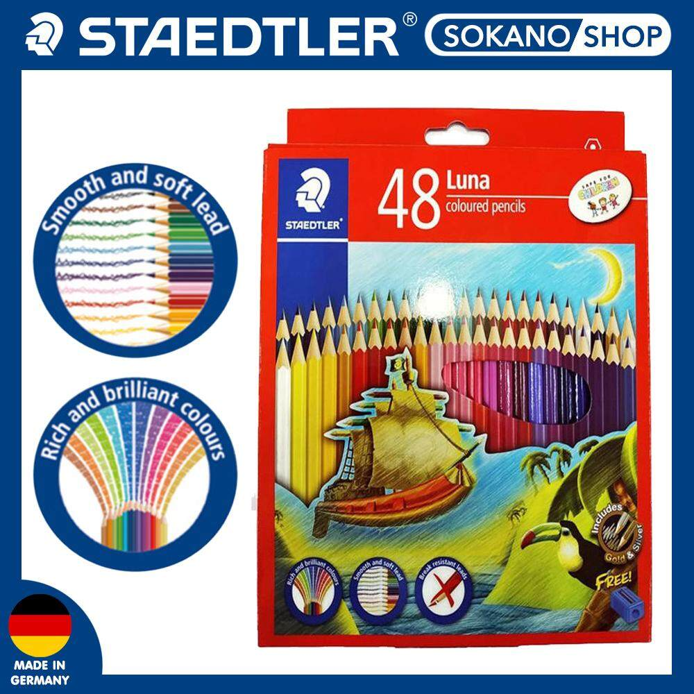 Staedtler Luna Colour 48's Long / Color/ Pencils