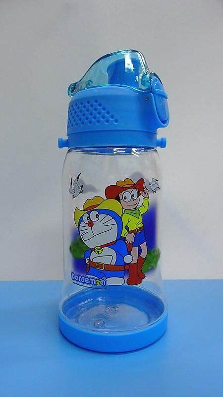 450ML Cartoon Water Bottle Drinking Bottle BPA Free Water Tumbler (BGJAYA)-Doraemon