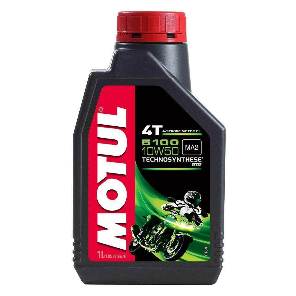 MOTUL 5100 10W50 TECHNOSYNTHESE ESTER, MOTUL5100 10W50 4T 4-STROKE MOTOL OIL