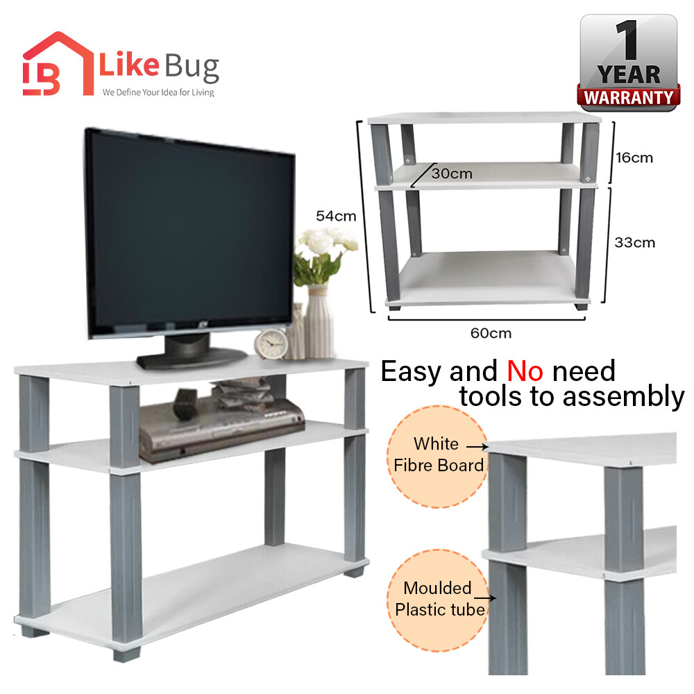 LIKE BUG: EASA A1 TV Rack / TV Cabinet / TV Console with Modernist design