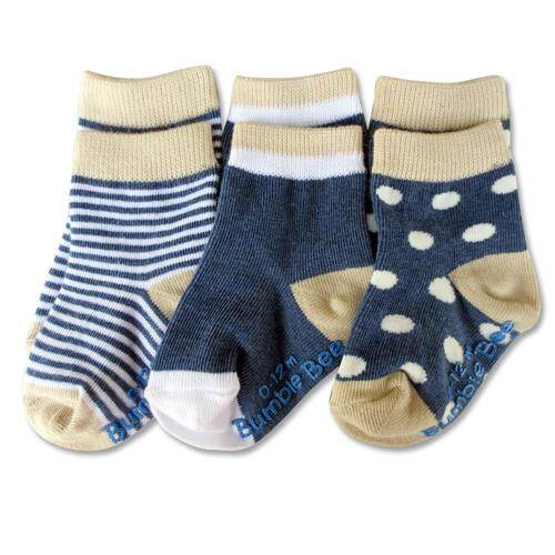 Bumble Bee 3 Pairs Pack Boy Classic Socks