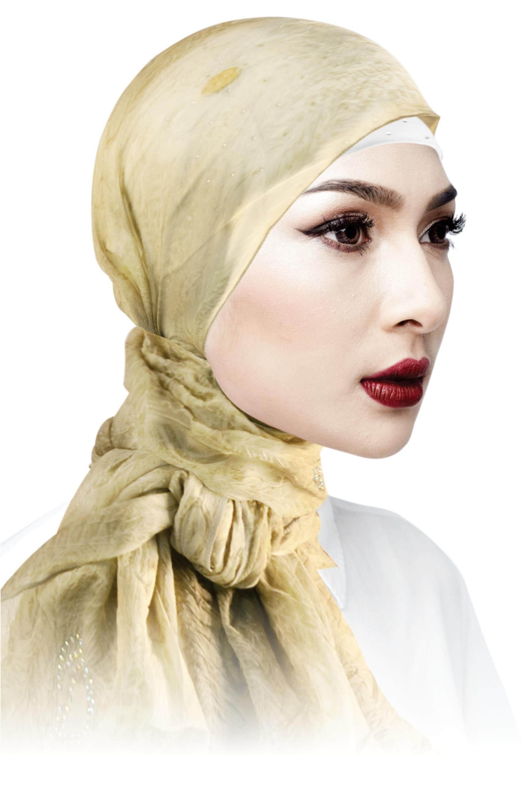 Sawks Hijab Long Shawl - Decorated with Rhinestone (Waterdrop Design)