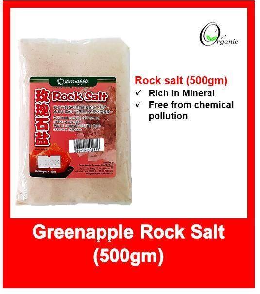 Greenapple Rock Salt 玫瑰石盐 500g (exp 12/2022)