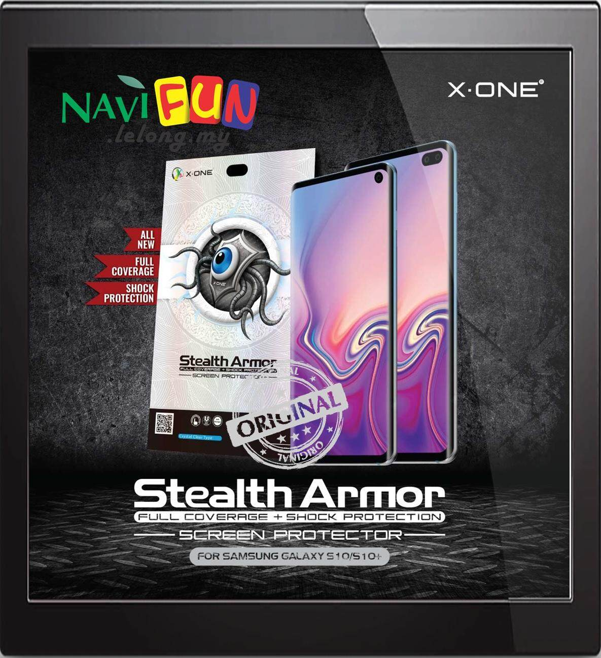 X-One Stealth Armor Screen Protector Samsung S10