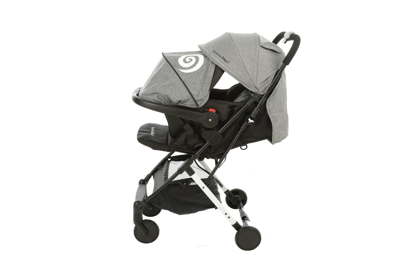 Akarana Baby Kea II travel System Grey