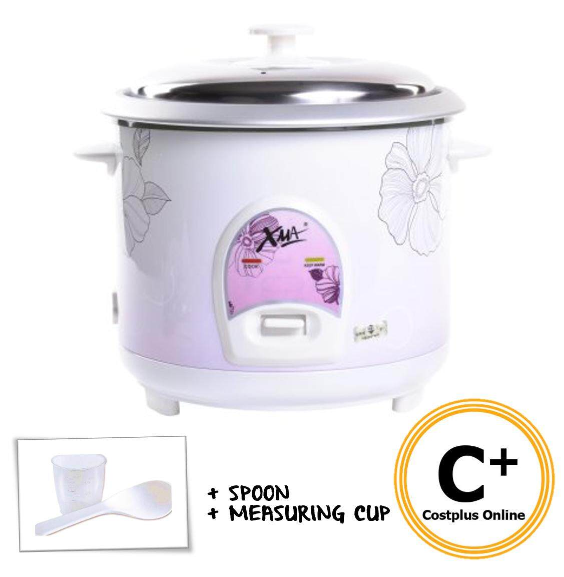 XMA XMA-108RC 1L Rice Cooker with FREE Spoon + Measuring Cup