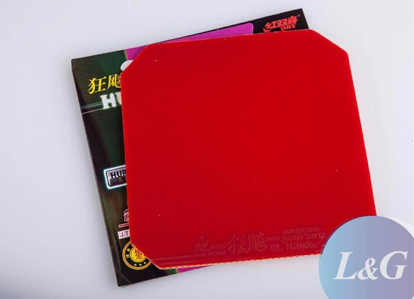 NITTAKU Hurricane 3 Pro Sticky-Elastic Inverted Table Tennis Ping Pong Rubber 2.1mm ITTF Approved Made In China