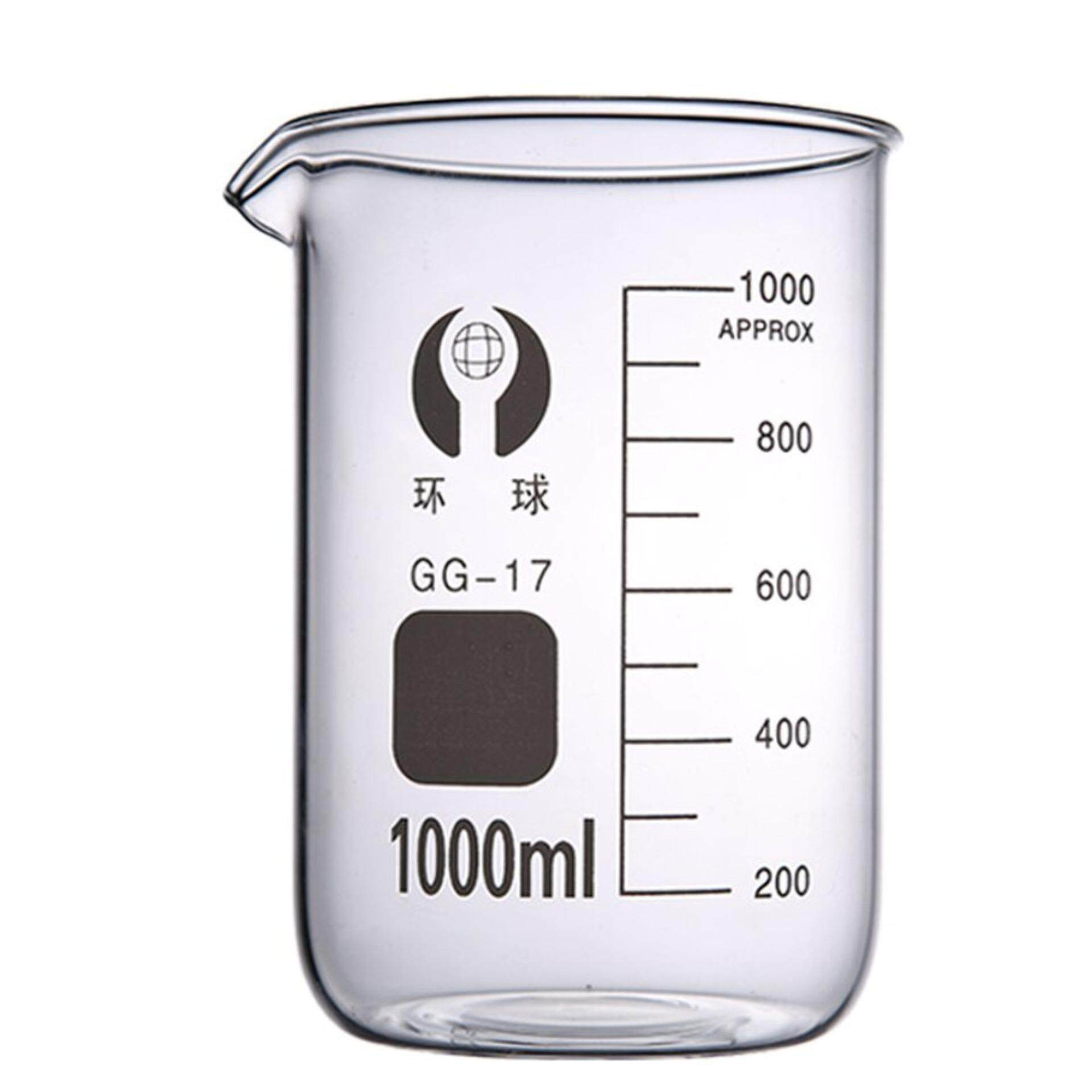 Glass Beaker 1000ml with Sprout