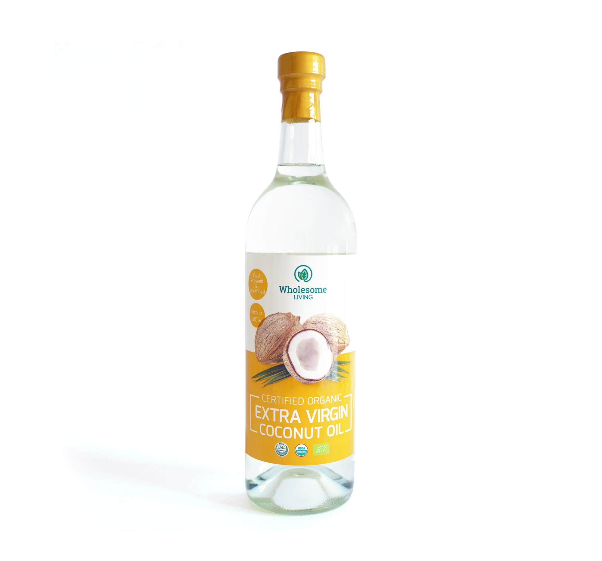Wholesome Living Extra Virgin Coconut Oil 750ml