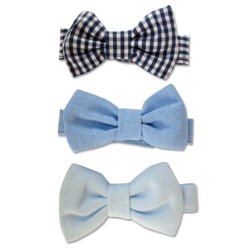 Bumble Bee 3pcs Baby Bow Ties Set