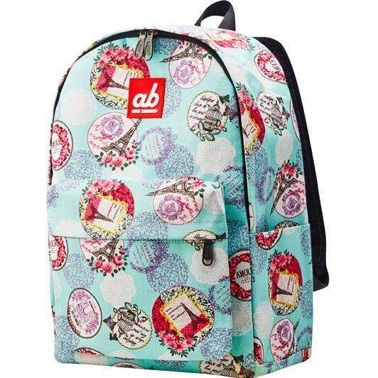 ab New Zealand lightweight Kids School Canvas Backpack (Amour Paris)