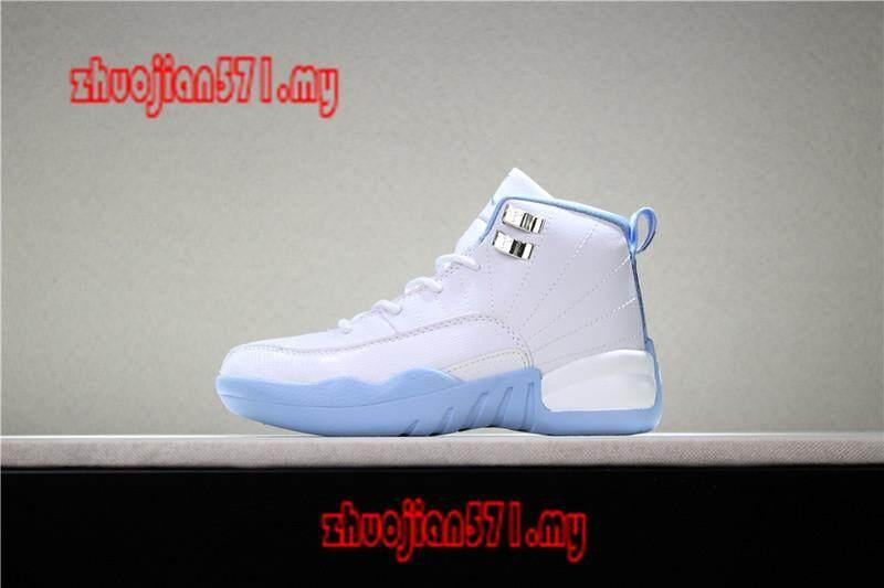 Mã Ưu Đãi Khi Mua Original_Nike_Air_Jordan_12_Retro_Kids_Boys_Girls_Sports_Basketball_Shoes_Sneakers_AAJJ472