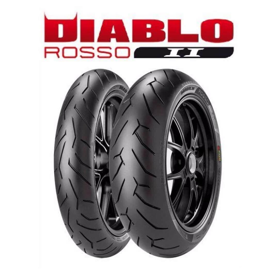 Pirelli Diablo Rosso II Motorcycle Racing Tyre Tayar (160/60R17)