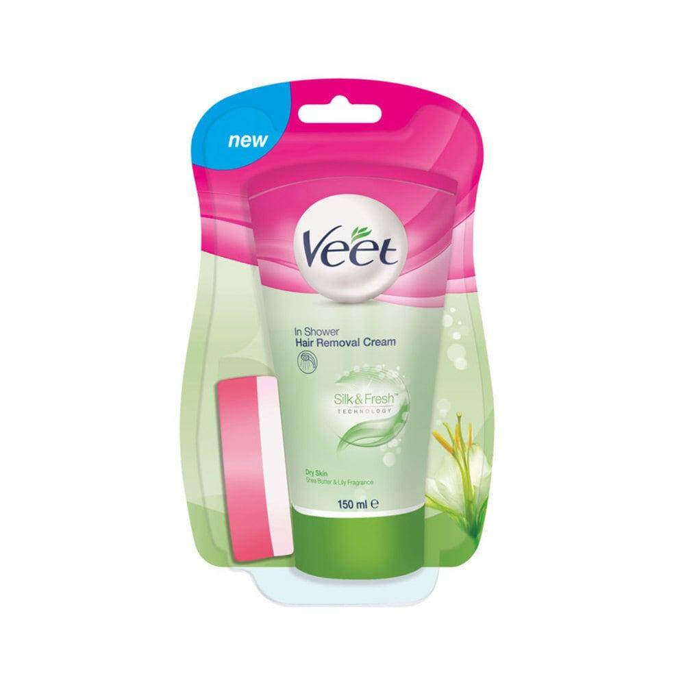 VEET Dry Skin In-Shower Hair Removal Cream 150ml