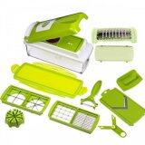 Nicer Dicer Plus (GREEN) Food Processor Kitchen Helper Food Chopper Cutter Slicer Mincer