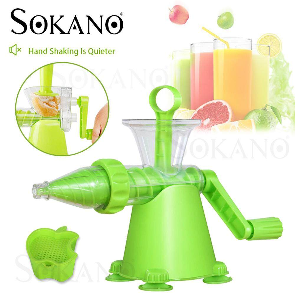 SOKANO Mr Juicer Manual Multifunctional Juice Extractor Easy Juice Extract Juicer Juice Maker