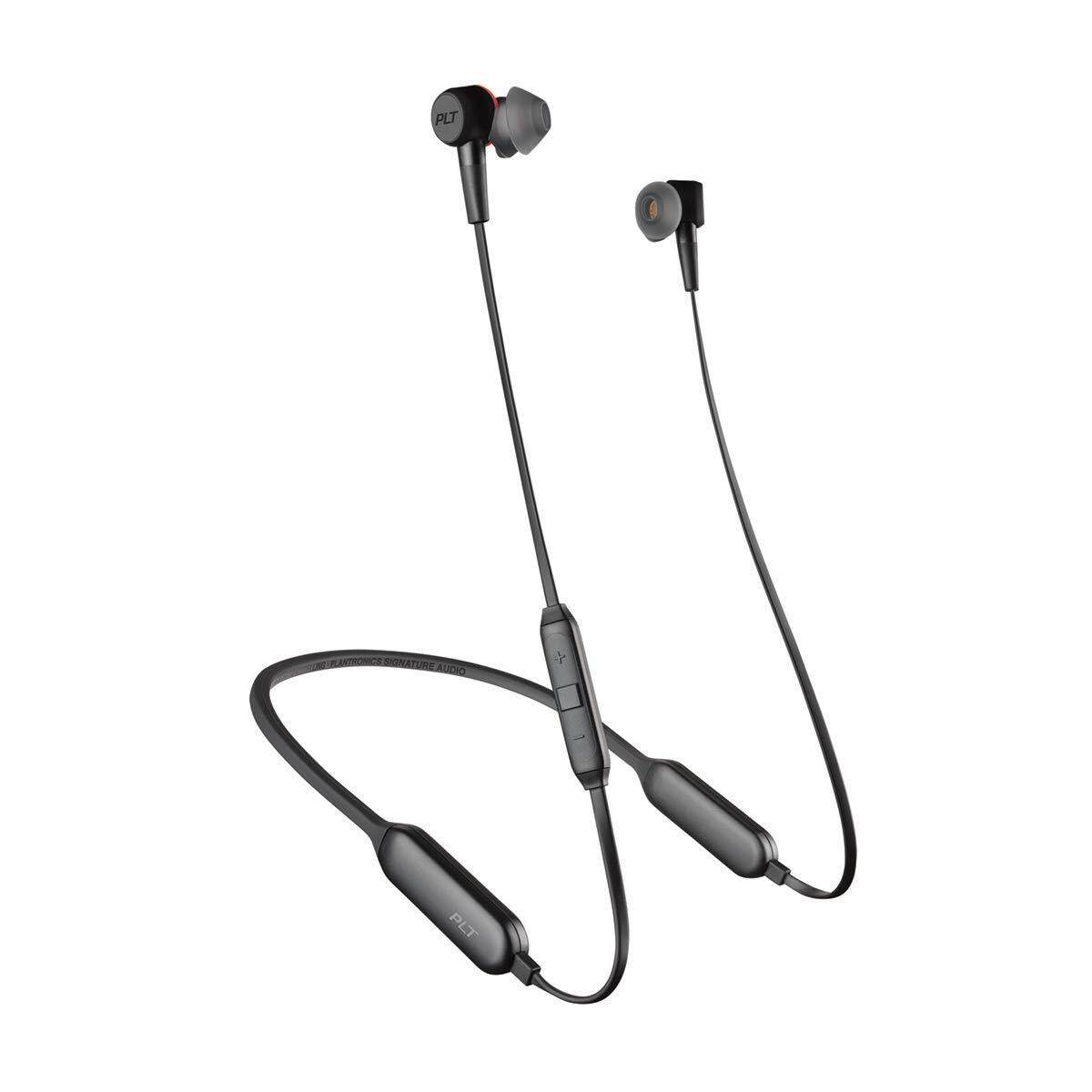 Plantronics BackBeat GO 410 Wireless Headphones Active Noise Canceling Earbuds - Graphite/ Bone