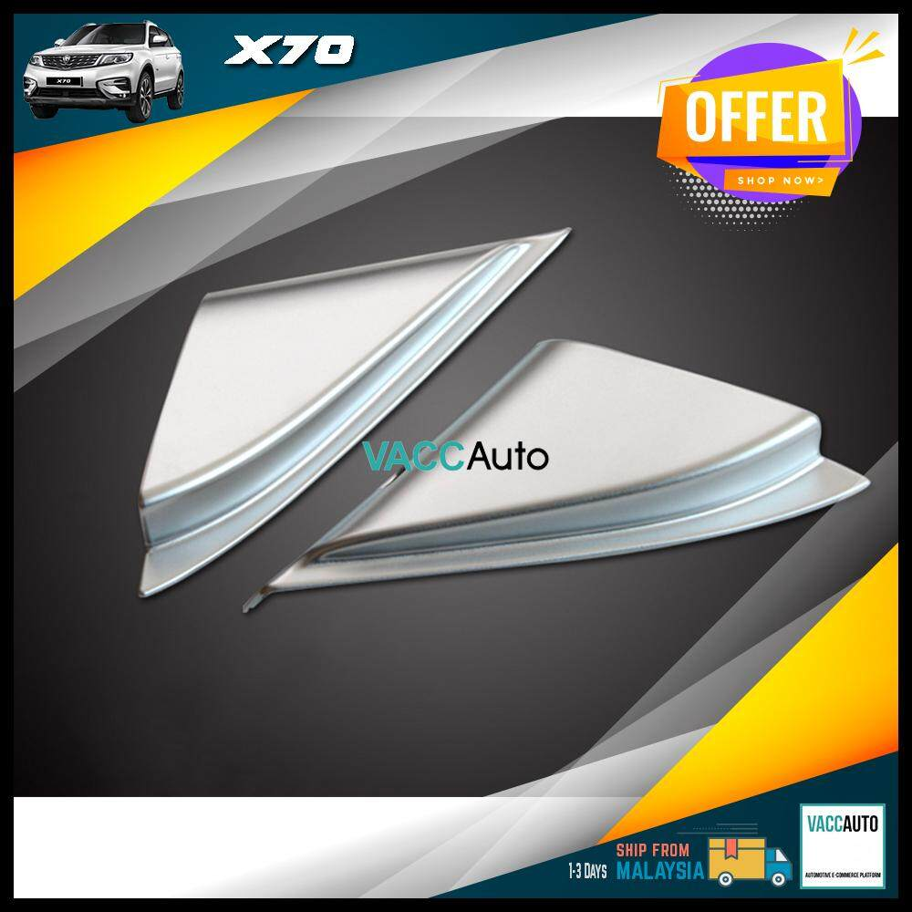 Proton X70 A Pillar Tweeter Silver Cover