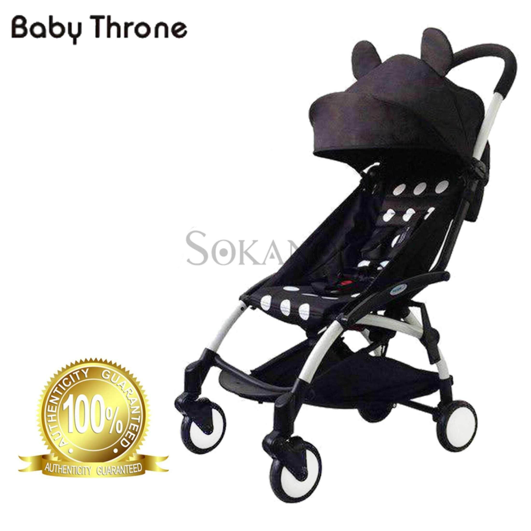 Baby Throne (100% authentic) Premium Cartoon Theme Lightweight Super Compact Foldable Stroller - Boy design