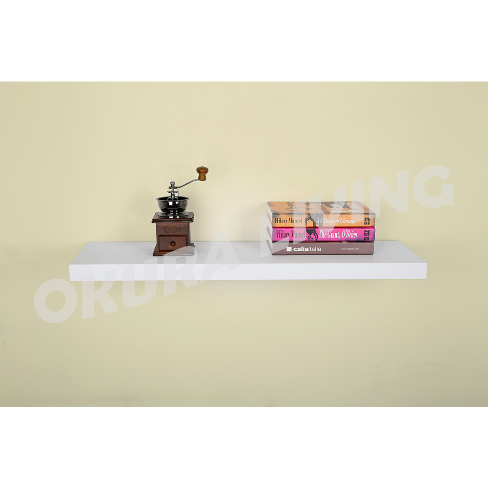 Okura Sky Floating Wall Shelve Home Living 60cm