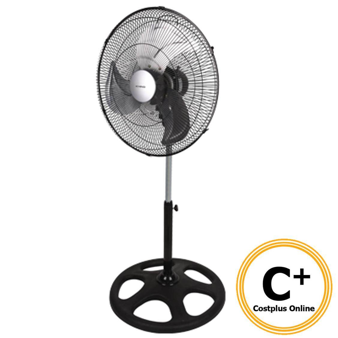 KHIND Industrial Stand Fan 18  Adjustable Height Aluminum Blade SF1812