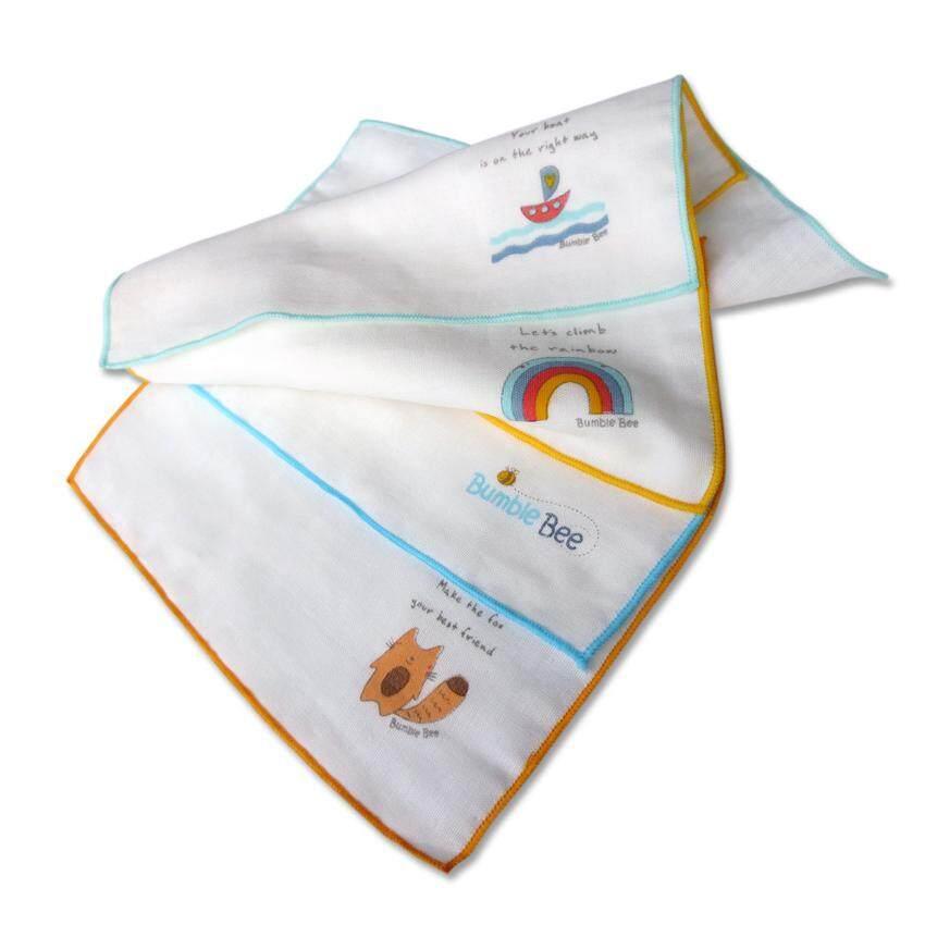 Bumble Bee Cotton Gauze Face Cloth