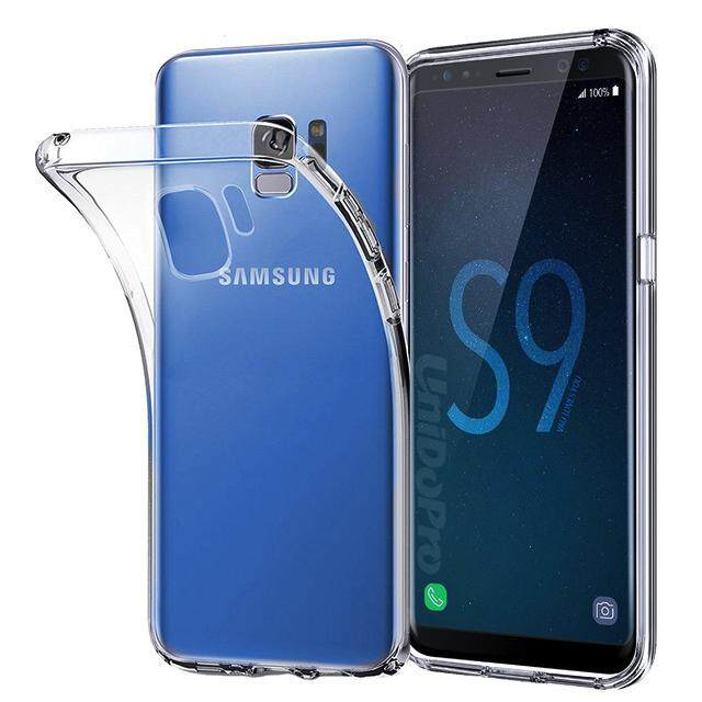 TPU Silicone Case for Samsung S9 (Transparent)