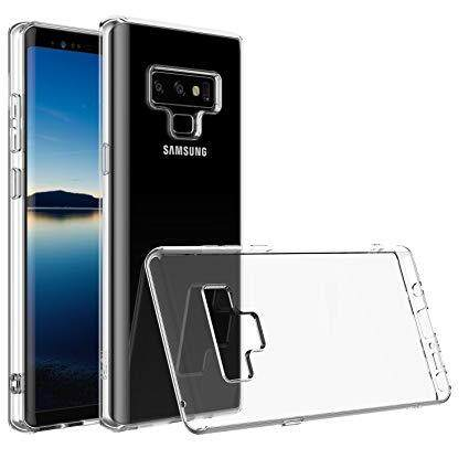 TPU Silicone Case for Samsung Galaxy Note 9 (Transparent)