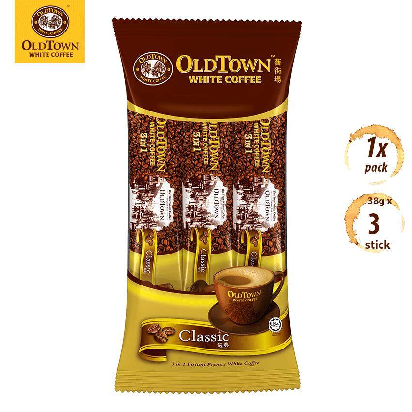 OLDTOWN White Coffee 3-in-1 Classic Instant Premix White Coffee Convenient Box (3S X 1 Pack)