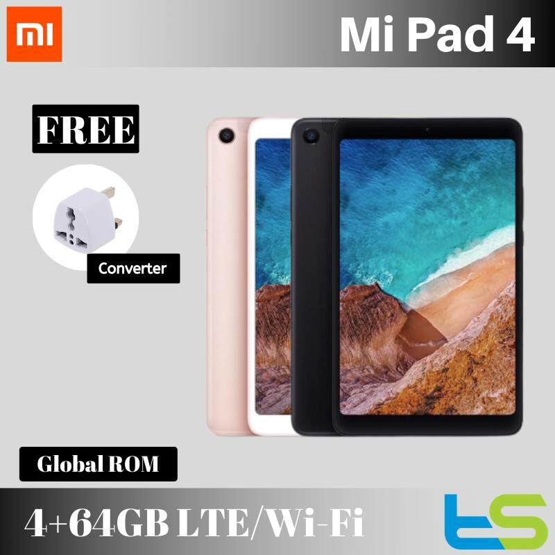 Xiaomi Mi Pad 4 Cellular 4G LTE / Wi-Fi only [64GB + 4GB RAM] Tablet Android OS MiPad [Original Imported Set]