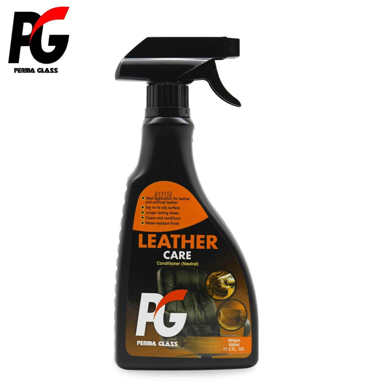 PG LEATHER CARE CONDITIONER - NEUTRAL (500ML) - CAR CARE INTERIOR