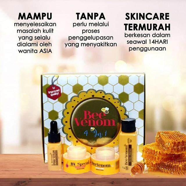 BEE VENOM SET 4IN1 NEW PEK
