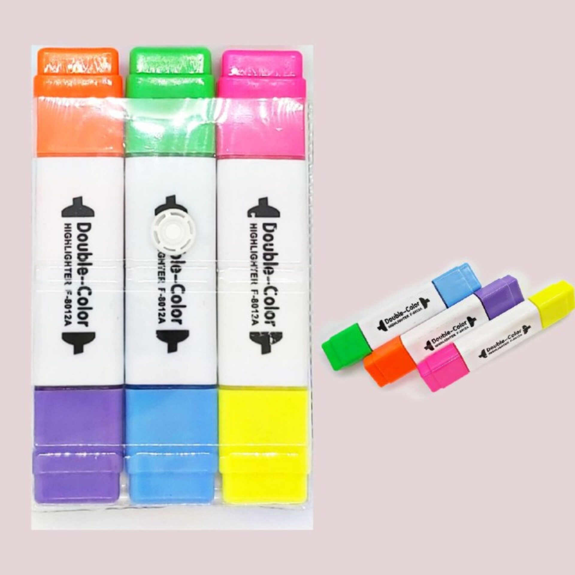 3in1 Double Colour Highlighters
