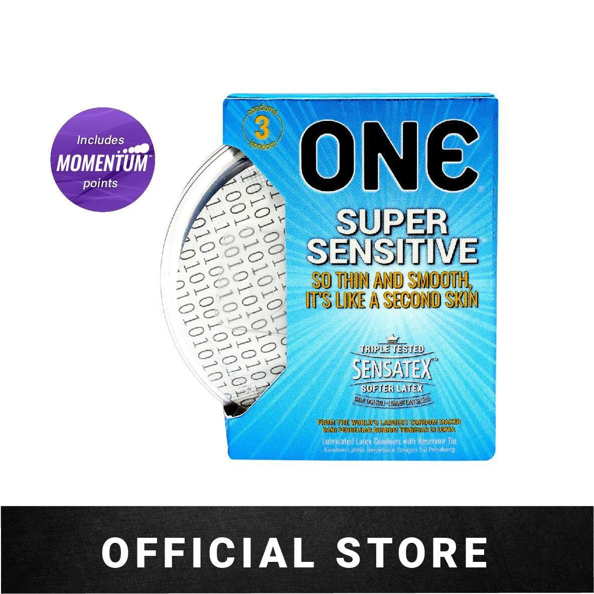 ONE Condoms Super Sensitive (3's)