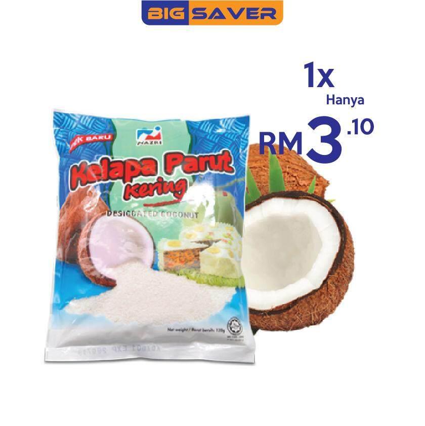 Desiccated Coconut/Kelapa Parut Kering Nazri 120g
