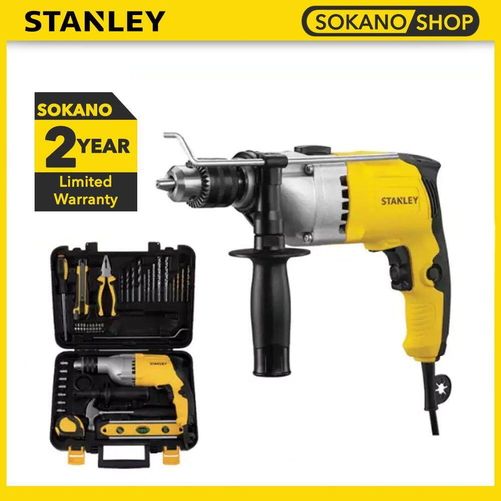 STANLEY STDH7213V 13MM Impact Drill With 40 Standard Accessories 800W