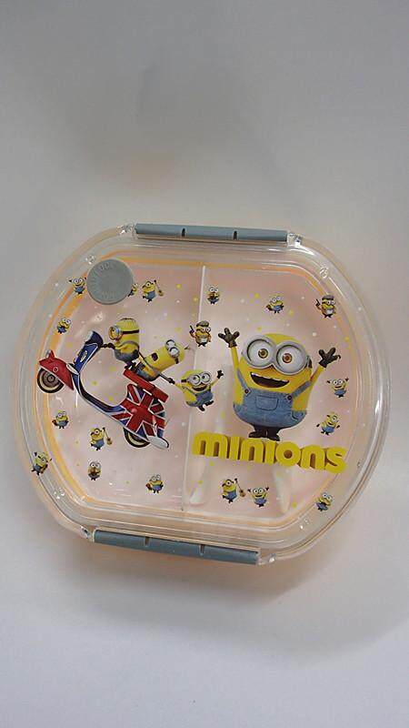 [Ready Stock] Cartoon Lunch Box Food Containers Frozen / McQueen Cars / Minions (BGJAYA)
