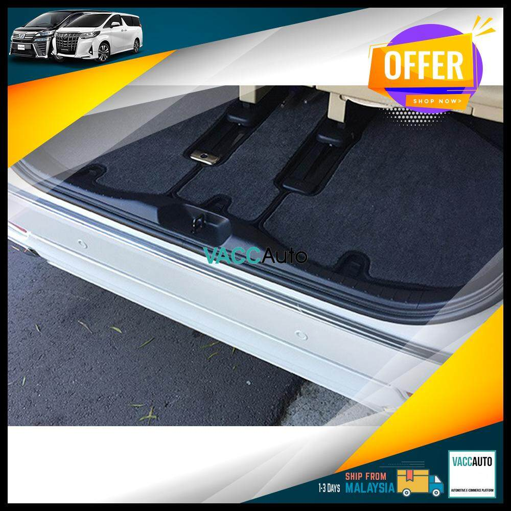 Toyota Alphard / Vellfire 2015 - 2019 Rear Bumper Protector - Out Vacc Auto Car Accessories Exterior Car Body Protection