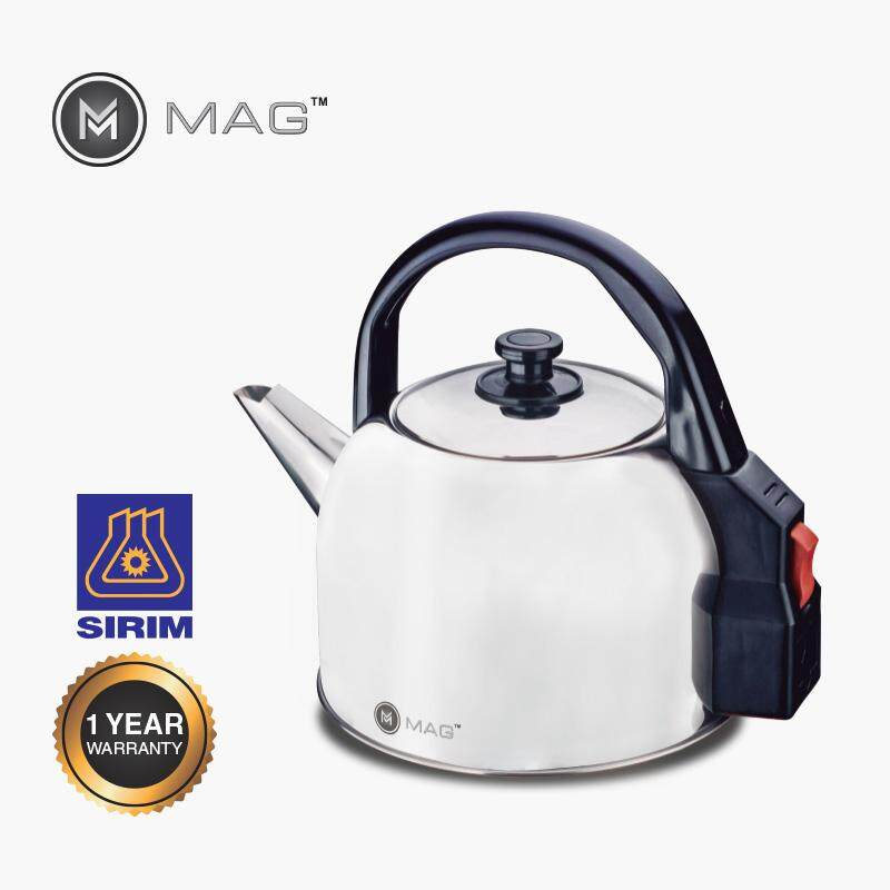 MAG  STAINLESS STEEL KETTLE 4.3L