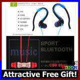 [Attractive Free Gift!] Caldecott Wireless Bluetooth Headset Earphone Earpod Headphone
