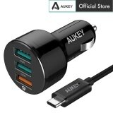 AUKEY CC-T11 Qualcomm Quick Charge 3 USB Ports 42W 7.8A Car Charger Note 7 HTC 10